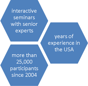 Our cross-cultural training on the USA is only led by experienced experts!